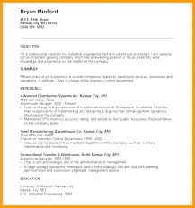 Example Resumes For Jobs Fascinating Sample Resumes For Warehouse Jobs Top Rated Resume Packer Job