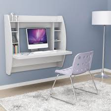 space saving home office furniture. White Floating Desk With Storage. This Office Furniture Is A Space Saving Solution For Any Home. Each Home Easy To Mount And Features S
