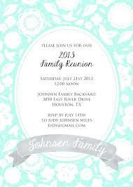 free reunion invitation templates family reunion invitation templates free flyer samples danielmelo info