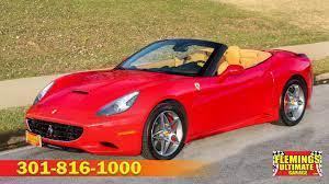 2010 Ferrari California 2010 Ferrari California Spyder 5k Miles Loaded For Sale To Buy Or Purchase Flemings Ultimate Garage Classic Cars Muscle Cars Exotic Cars Camaro Chevelle Impala Bel Air