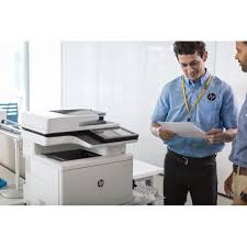 Printer Technician Hp Color Laserjet Enterprise Flow Mfp M577z Printer