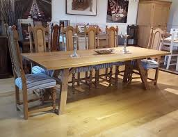 oak dining table. Sussex - Splayed Leg Oak Dining Table \u2013 Country Ways Furniture Makers