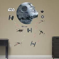 Small Picture Death Star Wall Decal Small Home Decor Inspiration Beautiful