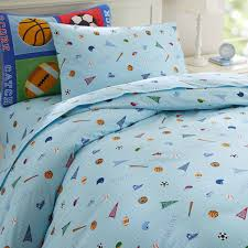 olive kids game on twin duvet cover