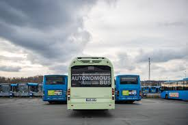 Volvo Demonstrates Operation Of Autonomous Electric Bus At