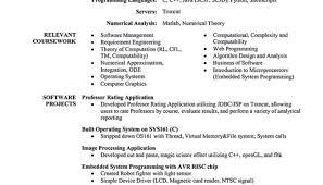 Resume Senior Software Engineer Resume To Get Ideas How To Make