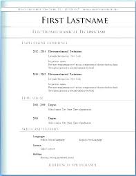 Resume Layout Examples Stunning Layout Of A Resume Catarco
