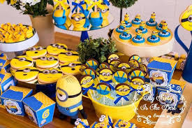 Sweets from Minions Birthday Party at Kara's Party Ideas. See more at  karaspartyideas.com