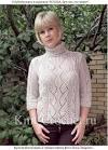 Вязание свитера 44 размера