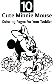 Minnie Mouse Coloring Pages Free To Print Free Printable Mouse