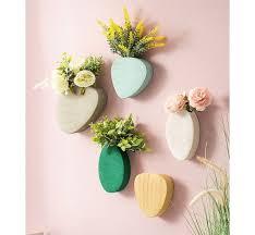ceramic stones wall vase wall planter