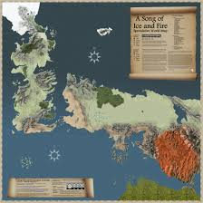 a song of ice and fire  speculative world map