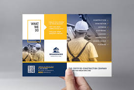 flyer companies construction company flyer template in psd ai vector brandpacks