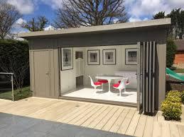 summer house office. Bi-fold Combination Pool Side Room Summer House Office D