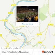 How To Get To Milan Puskar Stadium In Morgantown By Bus Moovit