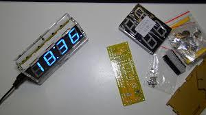 review banggood diy 4 digit led electronic clock kit german you