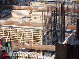 Rebar Chicago A View Of Formwork And Rebar That Will Form The Tower Core On Top Of