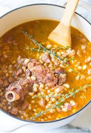 nana s epic navy bean ham bone soup