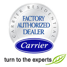 carrier air conditioning logo. carrier authorized dealer air conditioning logo o