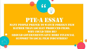pte essay many people prefer to watch foreign films rather than  pte essay many people prefer to watch foreign films rather than