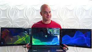 Chế siêu laptop Razer 3 màn hình chỉ với 300USD | Máy tính