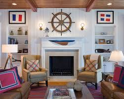 nautical living room furniture. traditional open concept family room idea in atlanta with white walls and a standard fireplace nautical living furniture r