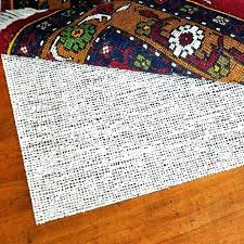 felt and rubber rug pad natural decoration pads with regard to 8x10