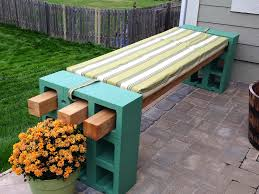 Cinder Block Outdoor Kitchen Cinder Block Bench