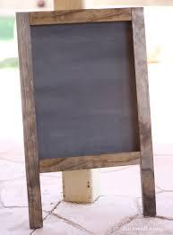 how to build a frame chalkboard todayscreativeblog net