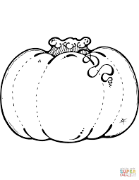 Pumpkin coloring page   Free Printable Coloring Pages