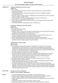 Administrative Manager Resume Administrative Manager Resume Samples Velvet Jobs 7