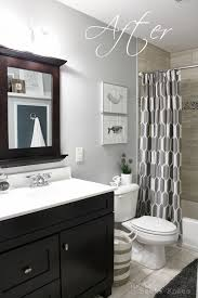 How To Frame Out That Builder Basic Bathroom Mirror For  Or - Trim around bathroom mirror