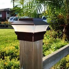 led solar powered post cap light outdoor garden fence landscape lamp sku169915 jpg sku169915 1 jpg