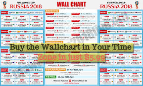 Fifa World Cup 2018 Free Wallchart Download Here To Keep