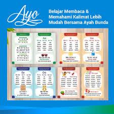 Cd belajar membaca bonus buku panduan ebook pdf untuk. Buku Belajar Membaca Anak Balita Cara Mudah Mengajar Anak Membaca Kinsky Shopee Indonesia