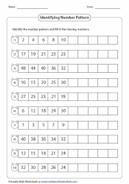 Number Patterns Awesome Standard Number Pattern Tutoring Pinterest Number Patterns