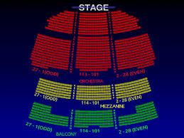 Gershwin Theatre Seating Chart View Seating Chart For Gershwin Theater Gershwin Theater Nyc