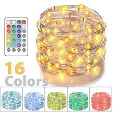 Großhandel Led Lichterkette Batteriebetriebene Multi Color