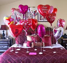 valentine's day bed decoration ideas pictures