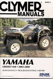 research claynes yamaha grizzly yfm660 2002 2008 service 2852 2852b 2852p