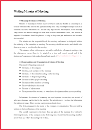 How To Write Meeting Minutes How To Write Meeting Minutes Bravebtr