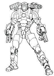 Disegni Iron Man Da Colorare The Baltic Post