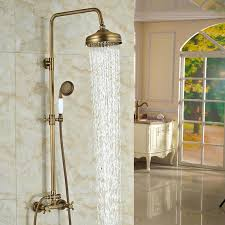 gold shower head luxury gold rain shower head bed and rose gold shower head uk gold