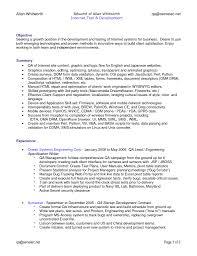 Qa Engineer Resumes Qa Engineer Resume Simple Sample Resume Resume
