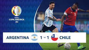 Video/ Argentina Cile (1-1): gol e highlights, Vargas risponde a Messi  (Copa America)