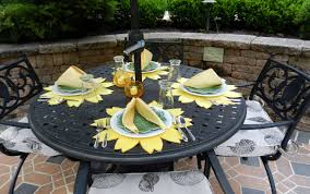captivating images of placemats for round table to decorate dining room design alluring outdoor dining