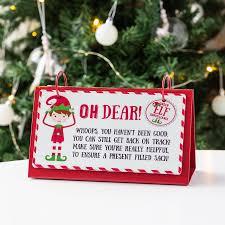 Christmas Elf Behaviour Flip Chart