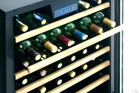 black wine cabinet. Le Cellier Wine Rack Black Metal Glass Cabinet Built In Freestanding Tab Buffet W A