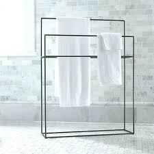 free standing towel racks bath towel standing rack metal standing towel rack floor standing free standing