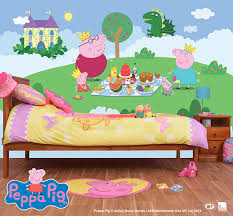 on peppa pig wall art stickers with wall murals